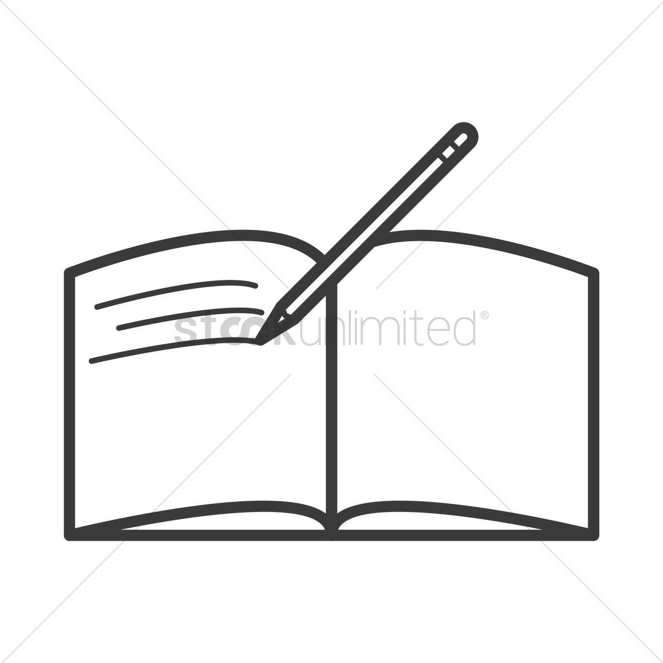 1300x1300 Pen Clipart Open Book