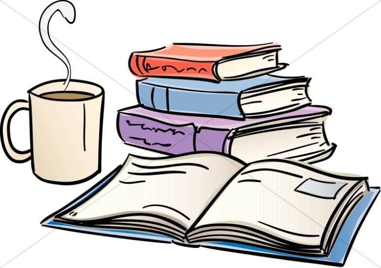 776x546 Book clipart coffee and