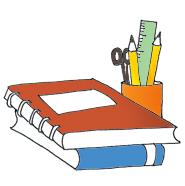 185x186 Pencil clipart school book