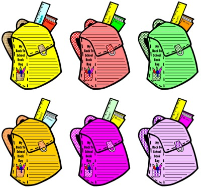 400x373 Backpack Drive Clipart