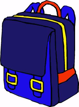 324x441 Bookbag Clip Art Backpack Clipart 5