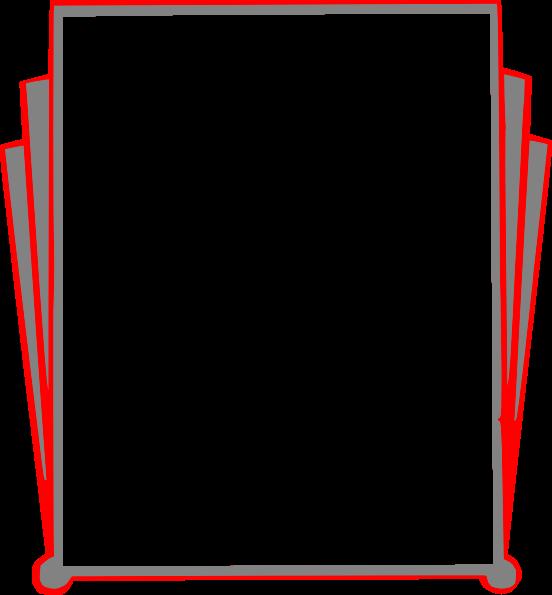 552x595 Books Cliparts Borders 183048