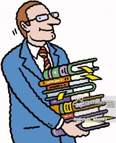 400x494 Book Worm Cartoons and Comics
