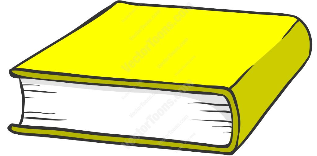 1024x504 Yellow Hardcover Book Cartoon Clipart