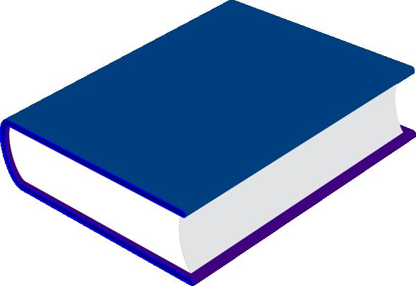 600x413 Blue Book Clip Art