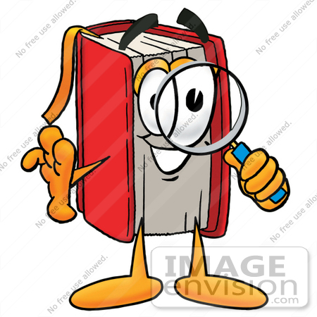 450x450 Cliprt Graphic Of Book Cartoon Character Looking Through