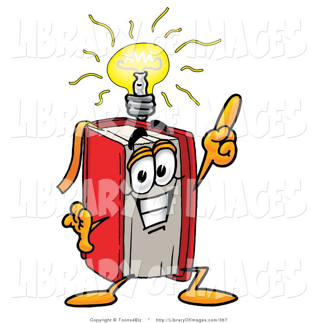 1024x1044 Cliprt Of Smart Red Book Mascot Cartoon Character