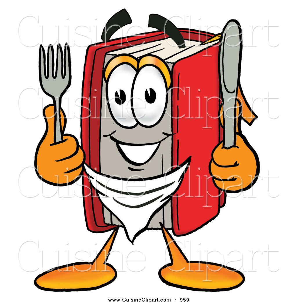 1024x1044 Cuisine Clipart Of A Hungry Happy Red Book Mascot Cartoon