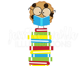 340x270 Pink Wagon Of Books Cute Digital Clipart Book Wagon Clip Art