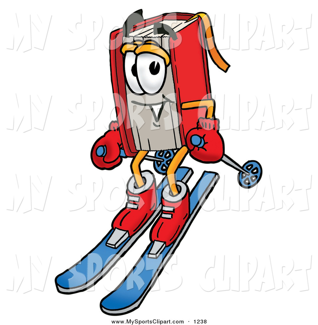1024x1044 Sports Clip Art Of A Sporty Red Book Mascot Cartoon Character
