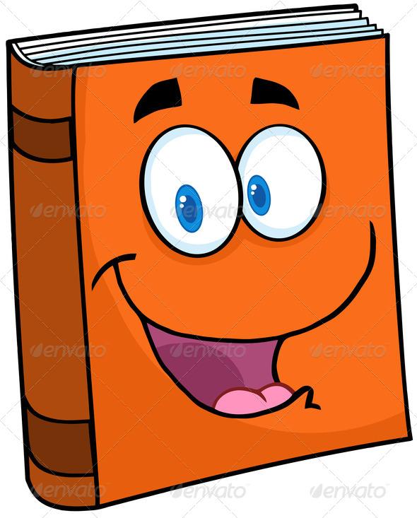590x733 Book Character Clip Art