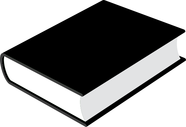 600x412 Free Closed Book Clipart Image