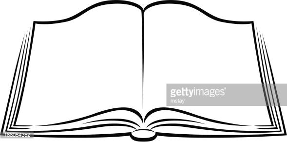 589x291 Open Clipart Book