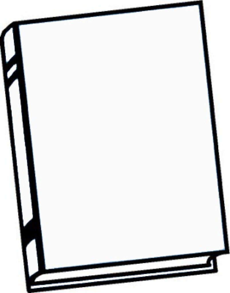803x1024 Clipart Black And White Book