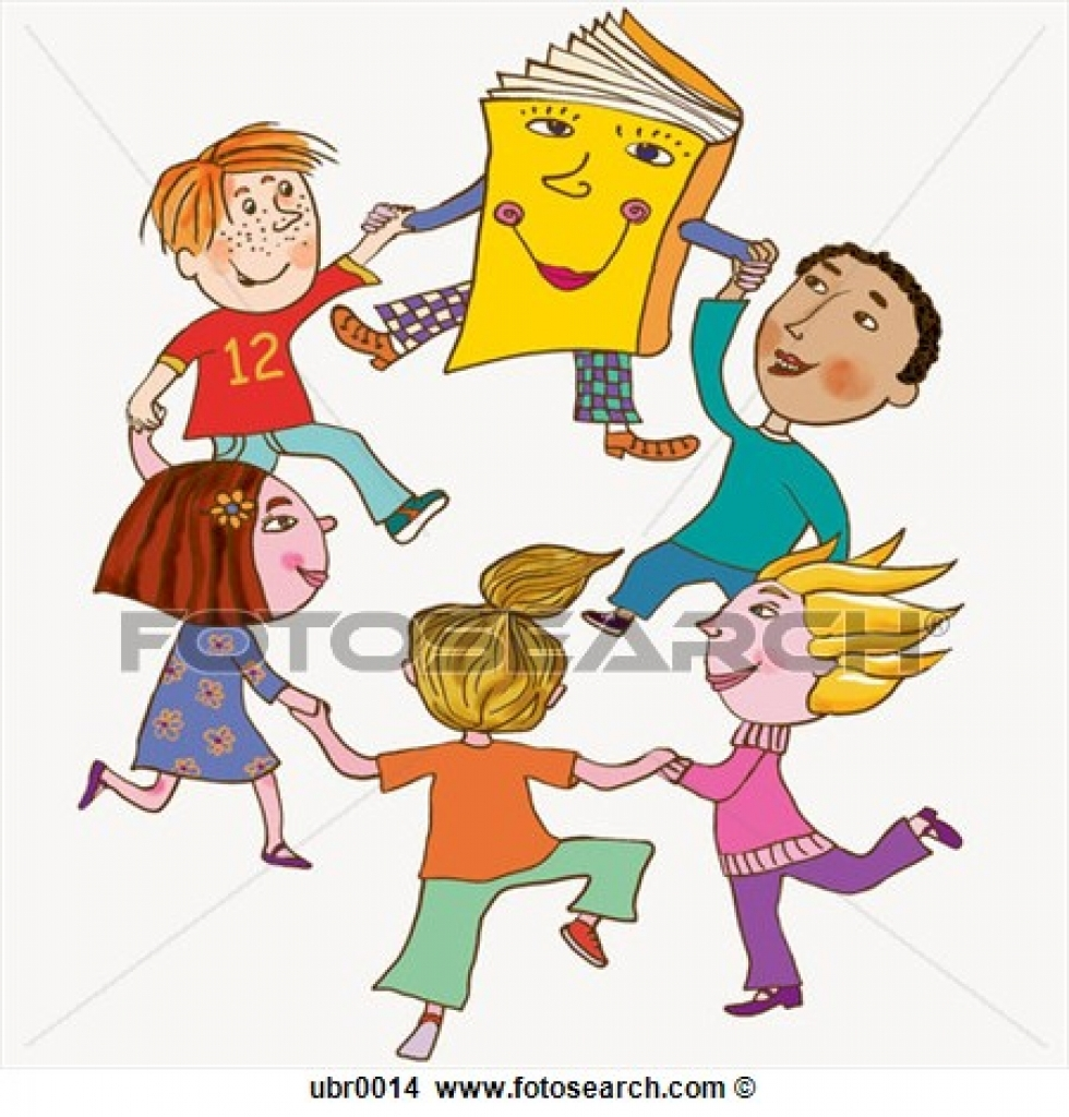 980x1024 Drawings Of Kids Dancing With A Book Ubr0014 Search Clip Art
