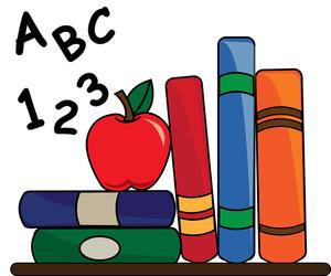 300x250 Book Clipart Teacher'S