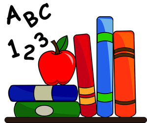 300x250 Books Clip Art Of A Book Clipart Image