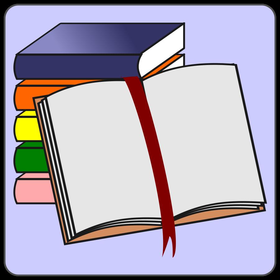900x900 Book Clip Art