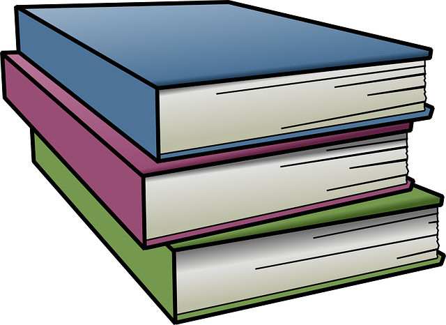 640x466 Pleasure clipart stack of books clip art of 4