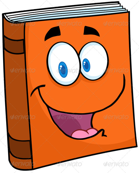 590x733 Book clipart cartoon
