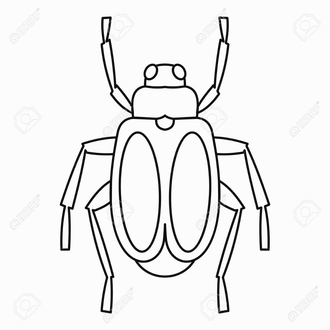 1300x1300 Bug Clipart Outline