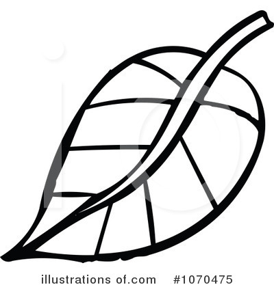 400x420 Leaf Outline Clip Art