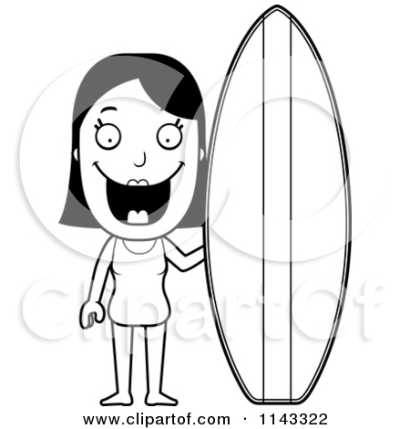 450x470 Surfboard Outline Clip Art