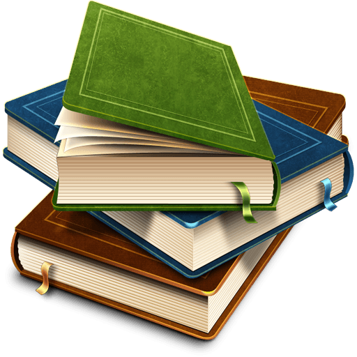 512x512 Book Clipart Transparent Background