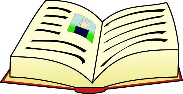 600x310 Book Clip Art Free 1 Open Book Clipart Image 3