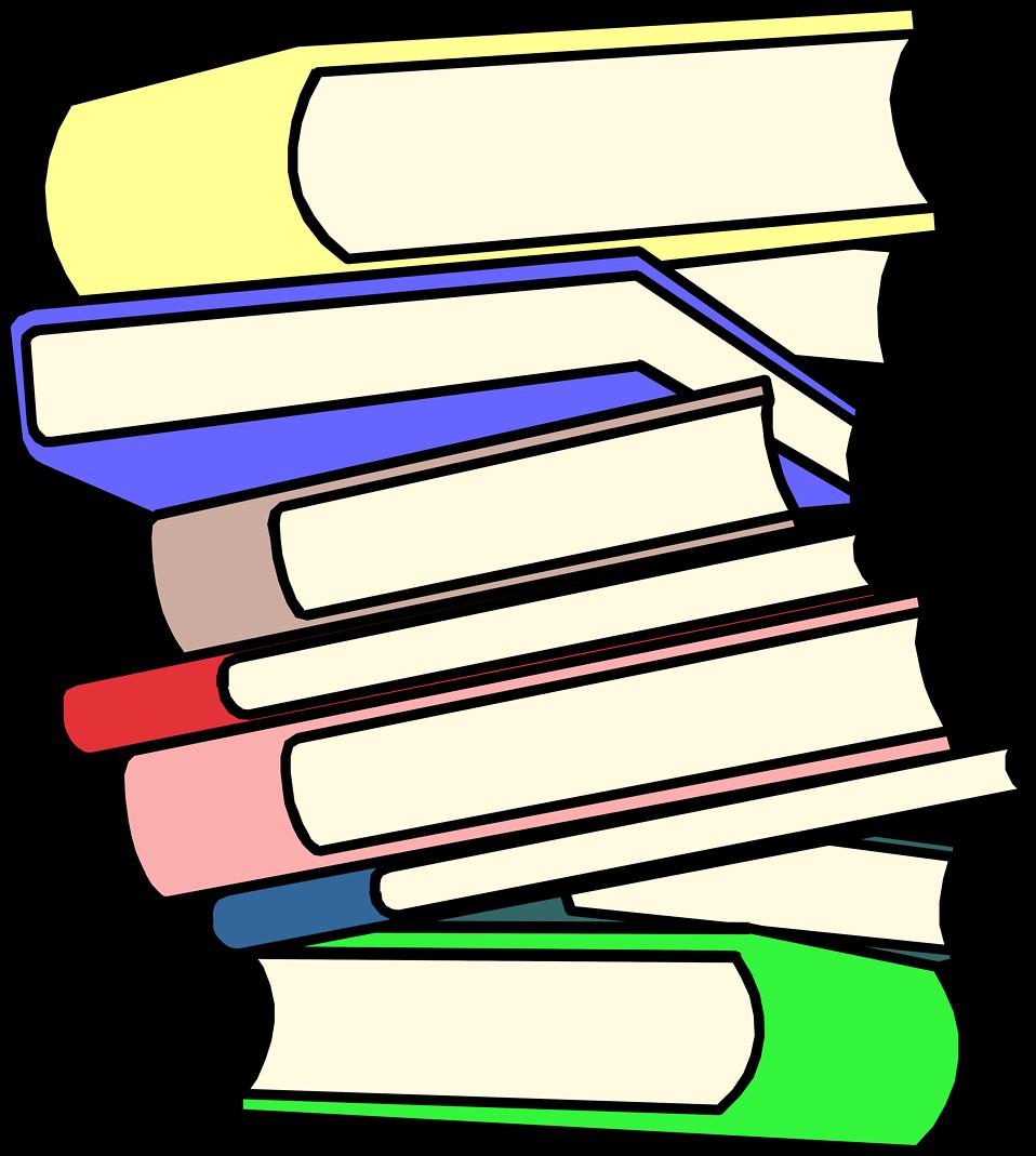 958x1069 Clip Art Pile Of Books Clipart