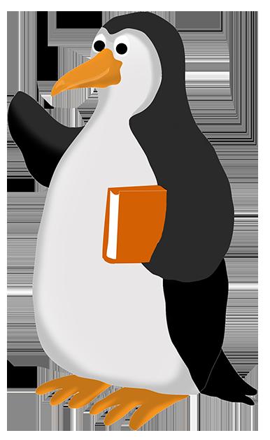 386x629 Funny Penguin Clip Art