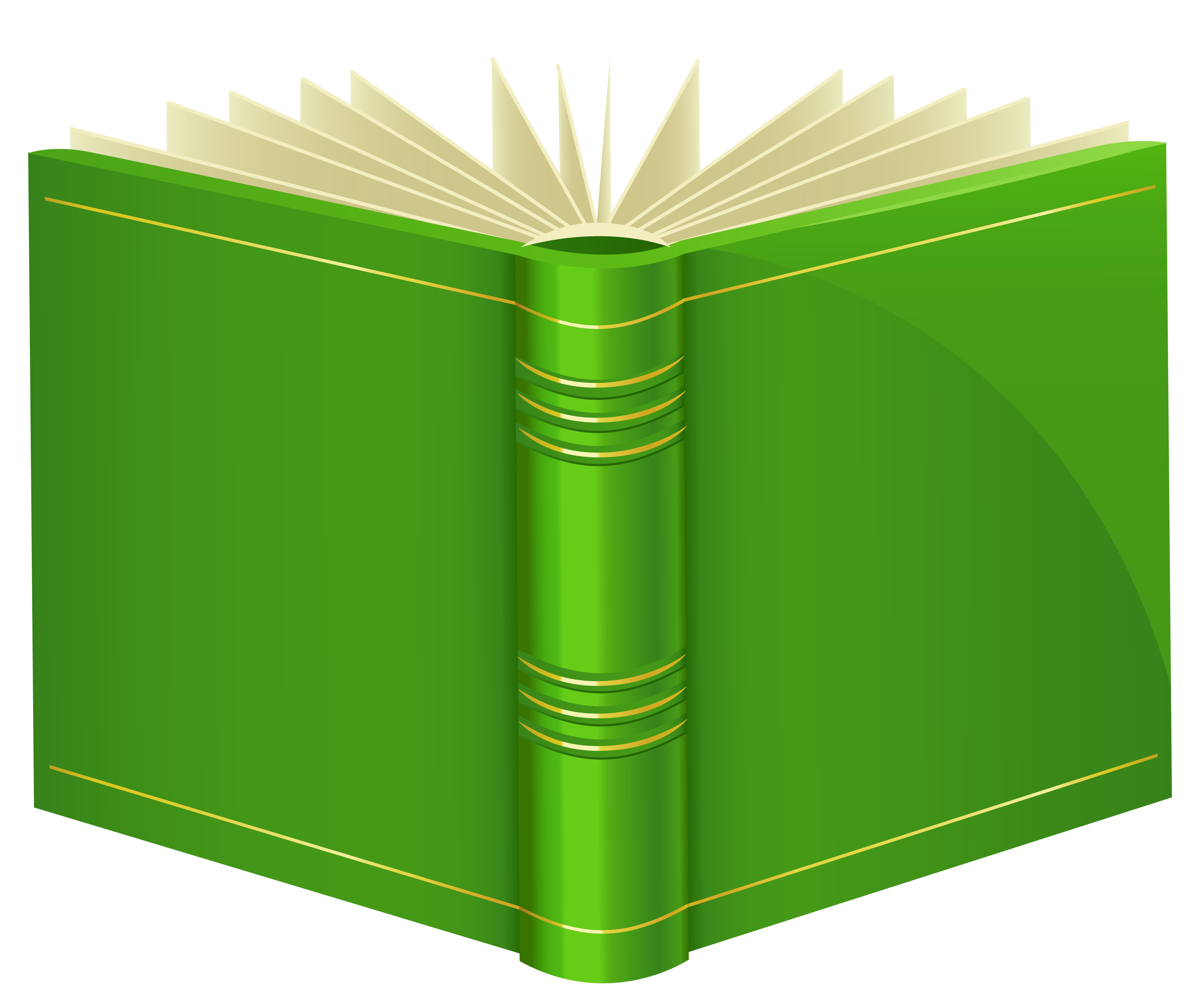 3597x3012 Green Book Png Clipart