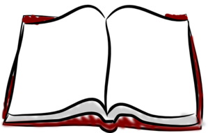 299x192 Open Book Clip Art