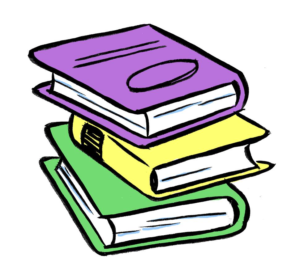 941x874 Top 73 Books Clip Art