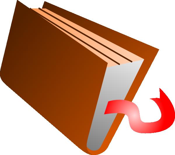 600x534 Closed Book Clipart