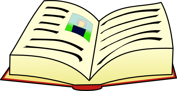 600x310 Textbook Clipart