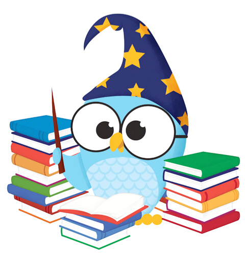 480x508 Owl Book Wizard Owls Book Wizard And Owl