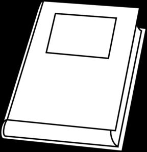 288x298 Book Outline Clip Art