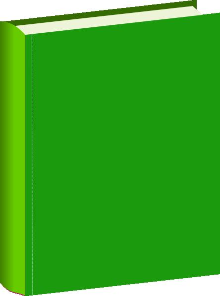 444x596 Green Book Clip Art
