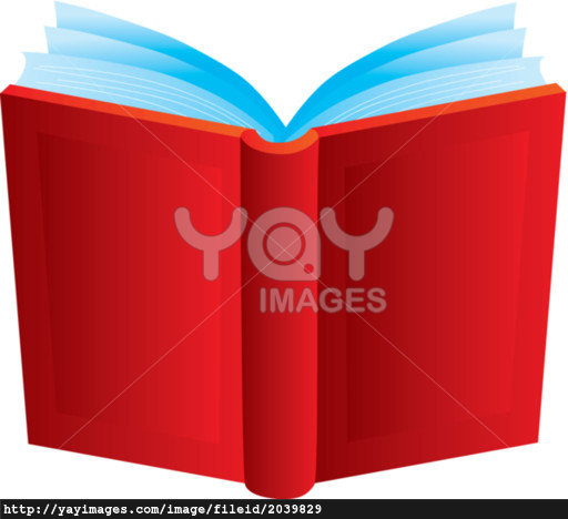 512x468 Open Book Cover Clipart