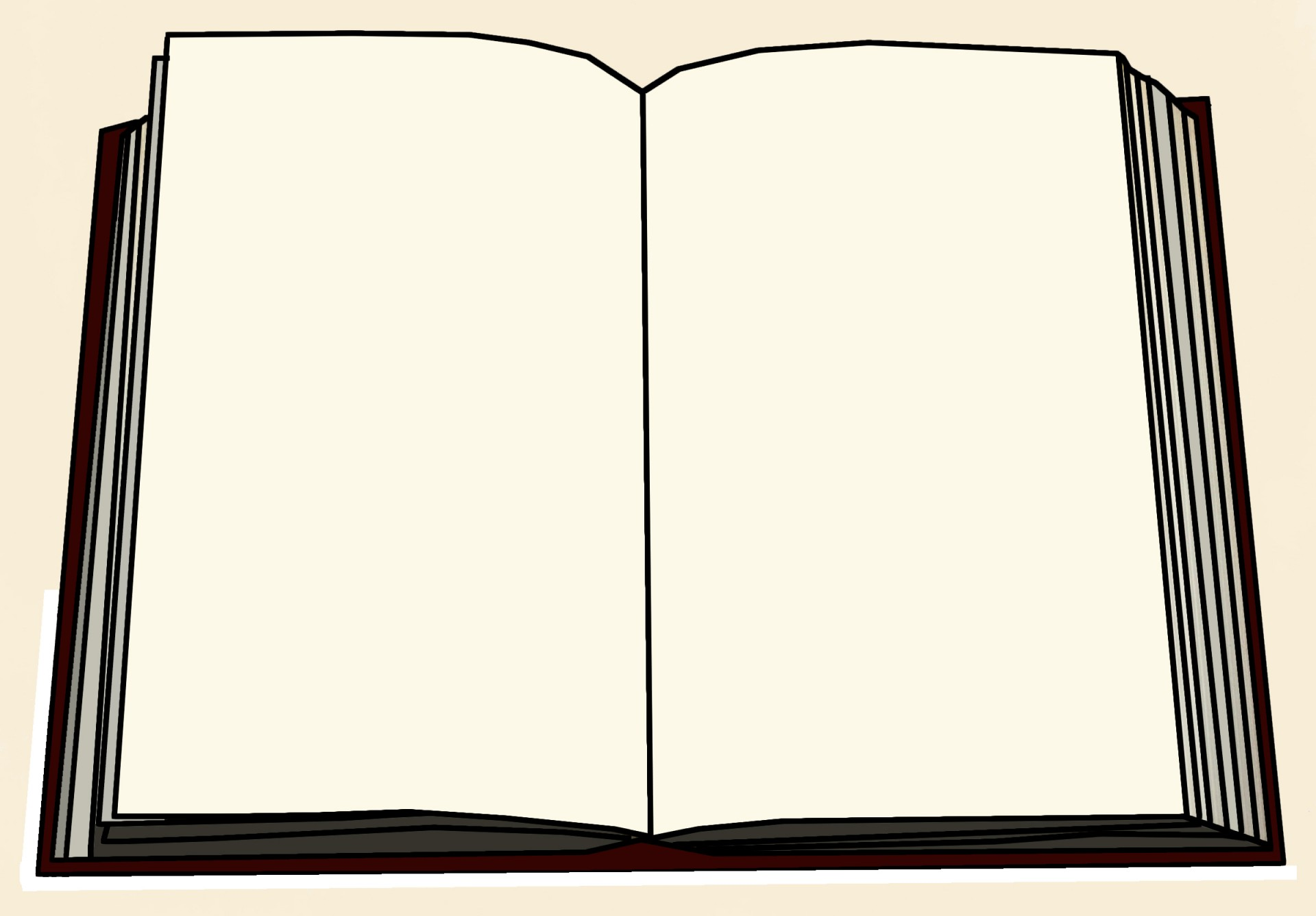 1920x1336 Blank Book Illustration Free Stock Photo