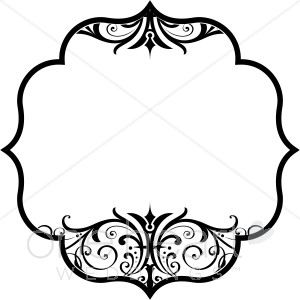 300x300 Wedding Clipart Cover Design