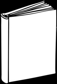 201x297 Blank Book Clip Art