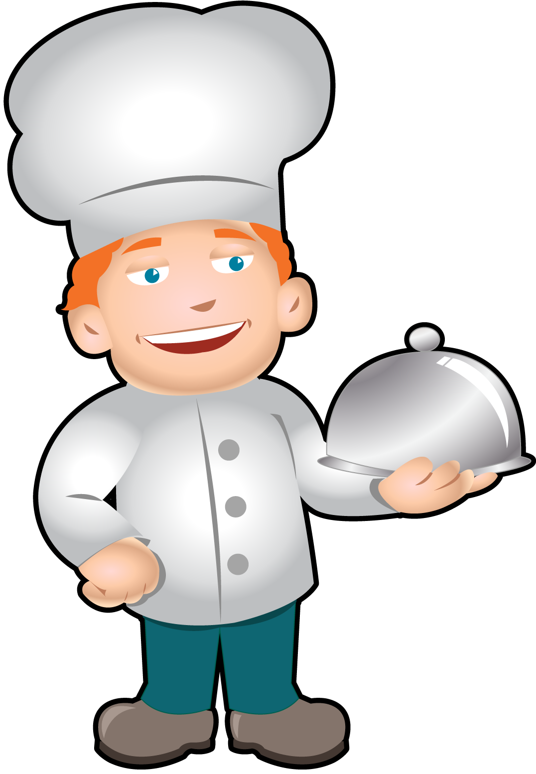 1076x1554 Chef Clipart Free