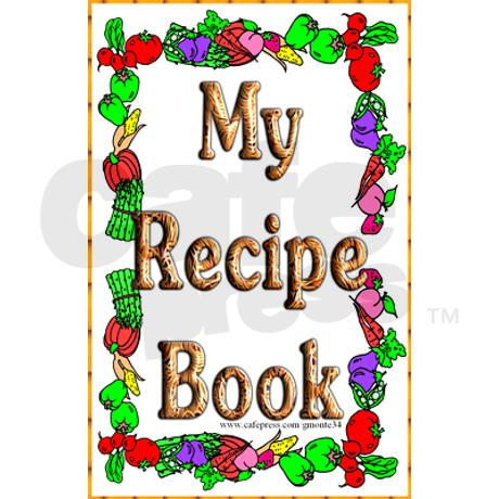 460x460 Recipe Book Cover Clipart