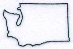 259x175 Washington State Outline Clipart
