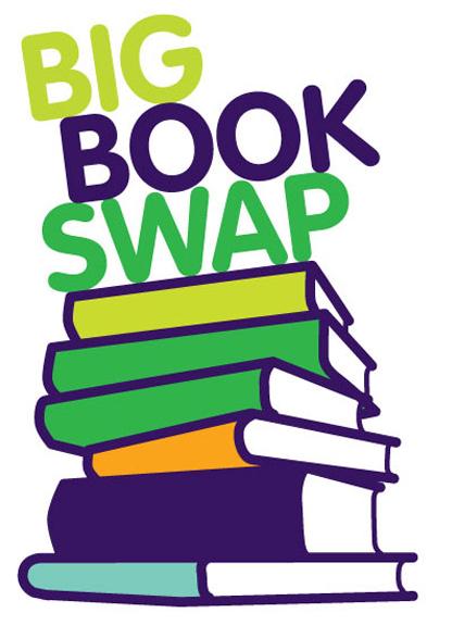 416x576 Book Swap Clipart