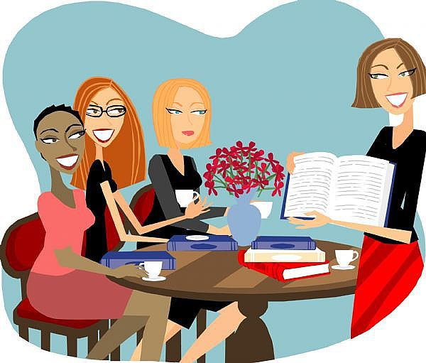 600x511 Club Clipart Book Group