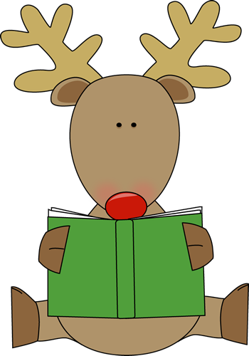 350x500 Holiday Book Clip Art