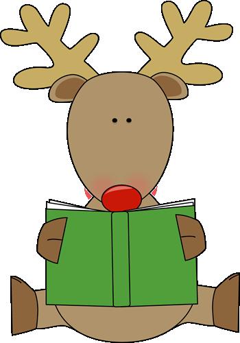 350x500 Holiday Book Clip Art